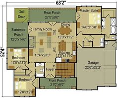 Craftsman Escape With Bunk Room - 92366MX | 1st Floor Master Suite, Bonus Room, Butler Walk-in Pantry, CAD Available, Corner Lot, Craftsman, Exclusive, Media-Game-Home Theater, Mountain, PDF, Photo Gallery, Sloping Lot, Split Bedrooms, Vacation | Architectural Designs Country House Plans, Dream House Plans, Small House Plans, House Floor Plans, My Dream Home, Metal Buildings, Shop Buildings, House Layouts, Home Design