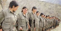 Kurdish Women fight back with ISIS