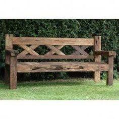 Resultado de imagen para rustic bench