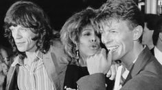 Mick Jagger, Tina Turner, David Bowie