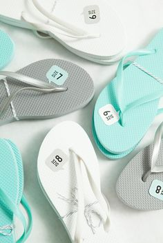 bcd923ced How-to DIY Your Own Wedding Flip Flop