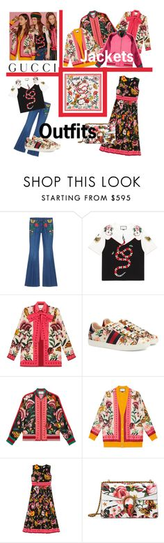 """""""Presenting the Gucci Garden Exclusive Collection: Contest Entry ❤️"""" by alfa-ivana-meling ❤ liked on Polyvore featuring Gucci and gucci"""
