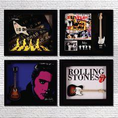 Quatro arte em parede