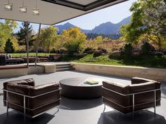 modern patio + furniture | http://urbilis.com/collections/patio-outdoor