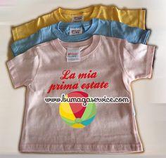 T-shirt  per bambino.