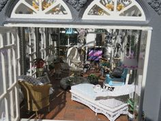 my conservatory. Voted best in show at the Cape Town Miniature Guild fair, one year of work!!!