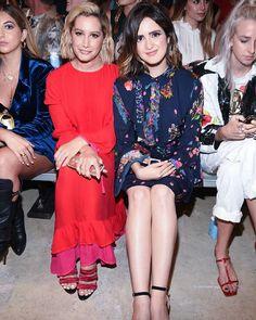 ☀ Vanessa Marano, Laura Marano, Ashley Tisdale, Cynthia Rowley, Fashion Show, Dresses With Sleeves, Long Sleeve, Girls, Toddler Girls