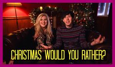 Louise and Phil play Festive Would You Rather? Sprinkle Of Glitter, British Youtubers, Two Daughters, Dan And Phil, Would You Rather, Sprinkles, Thankful, Videos, Amazing