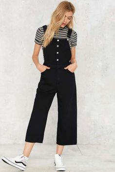 02bd13a9e661 Cheap Monday Later Denim Overalls - Rompers + Jumpsuits Overall Dress