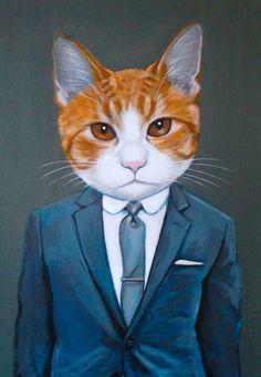 """Benny"" Custom Portrait by Heather Mattoon"