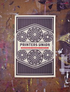 Printers Union - Mike Smith