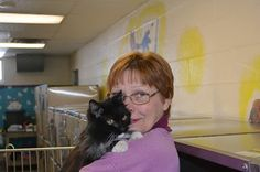March's Volunteer of the Month at the Oakland County Animal Control & Pet Adoption Center is Rose-- thank you for all that you do for Oakland County's furry finest!