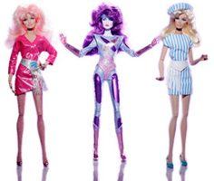 Jem and the Holograms are Coming to Holt Renfrew - Want them so bad! Jem And The Holograms, 80s Fashion, Fashion Dolls, Jem Cartoon, Jem Et Les Hologrammes, Jem Doll, Beautiful Barbie Dolls, 90s Cartoons, Laurel Burch