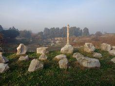 Die Reste des Tempels der Artemis in Ephesos im Jahr 2015