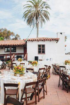 Mexican ranch inspired reception, photo by Matthew Morgan http://ruffledblog.com/southwestern-san-clemente-wedding #weddingideas #weddingreception