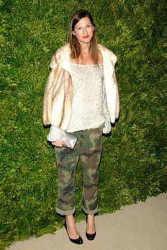 Jenna Lyons and the Shoulder Jacket at 7th Annual CFDA/Vogue Awards