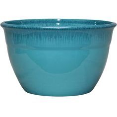 13IN MCKAYLA PLANTER TURQUOISE | At Home