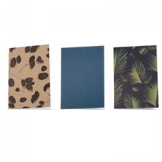 Susan Castillo Set of 3 A6 Notebooks | Notebooks | Stationery | Ohh Deer