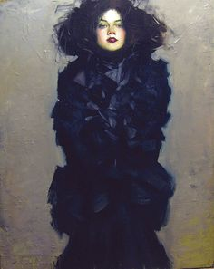 """St. Louis Park Distinguished Alumnus Award recipient Malcolm """"Skip"""" Liepke painted this artwork, titled """"Lady in Black."""" (Submitted art courtesy of Liepke)"""