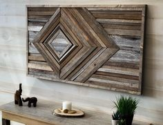Custom Woodworking For Honing Your Skills – Hobby Is My Life Wood, Rustic Art, Reclaimed Wood Projects, Custom Woodworking, Wood Wall Art, Modern Wall Art, Indoor Crafts, Wood Crafts, Wall Design