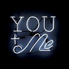 You and Me Neon Sign — Oliver Gal