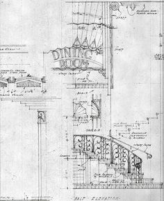 Love a beautifully drawn plan. Architecture Plan, Architecture Details, Drafting Drawing, Welcome To The Web, Beautiful Drawings, Designs To Draw, Art Deco, Sketches, Natural Building