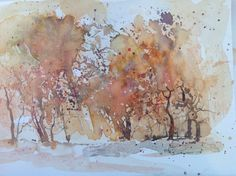 Abstract trees-Penny Steynor-watercolour Abstract Trees, Art Boards, Watercolour, Landscapes, Paintings, Studio, Friends, Artist, Pictures