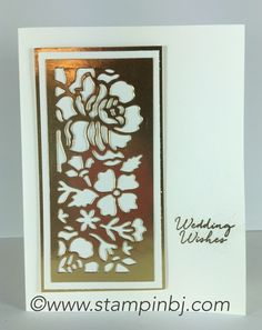 Floral Phrases, Detailed floral thinlits, Stampin' Up!, BJ Peters…