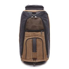 9a9687decb Outdoor Multifunction Travel Bag Large Capacity Hiking Backpack Canvas Bag  for Men Climbing Backpack