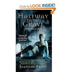 "Halfway to the Grave by Jeaniene Frost.  First int the Night Huntress Series.  Love love love Cat and Bones.  It's a rare author can keep a ""love"" exciting book after book, but Frost does it in spades!"