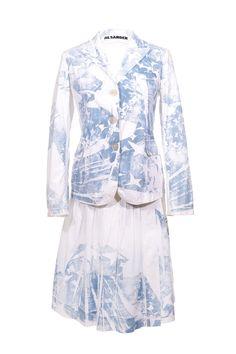 #JilSander #blazer #skirt #blue #summer #fashion #vintage #clothes #accessories #secondhand #onlineshopping #mymint
