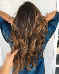 """5 Likes, 1 Comments - Keziah Dauz (@beautybykeziah) on Instagram: """"It's not often clients want warm balayage but today I got to enjoy creating this and her next…"""""""