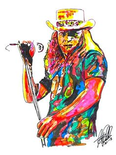 Ronnie Van Zant,~ Lynyrd Skynyrd, Vocalist Southern Rock POSTER w/COA 2
