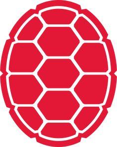 Stencil for Ninja turtle team