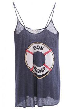 800d8ba07b303 Wildfox t-shirts and tanktops - so SOFT Nautical Knots