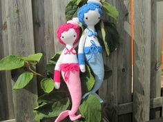 MICI the mermaid made by Marion M. / crochet pattern by lalylala