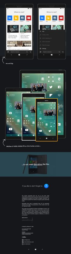 An overview about Windows 10 Mobile UI/UX design, considering details overlooked by Microsoft.