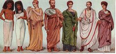 Header image roman fashion history women clothing in ancient rome guest writer fustany main image Ancient Rome, Ancient Greek, Ancient Greece Clothing, Greece Outfit, Greece Fashion, Greek Men, Classical Greece, Greek Culture, Facts For Kids