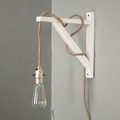 Make this industrial wall lamp (including wiring) in one afternoon for under $40.