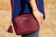 When Klein Blue meets Burgundy | With Or Without Shoes - Blog Moda Valencia Tendencias