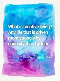 What is a creative life?