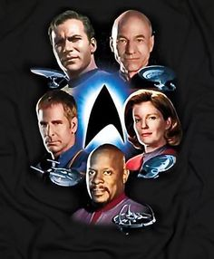 Star Trek - The Five Captains, Now that's better.