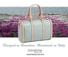 Designed in Barcelona, Handmade in Italy. Toscannia Leather Handbag Collection http://www.toscannia.com/leather-bags