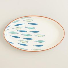One of my favorite discoveries at WorldMarket.com: Riviera Fish Terracotta Serving Platter
