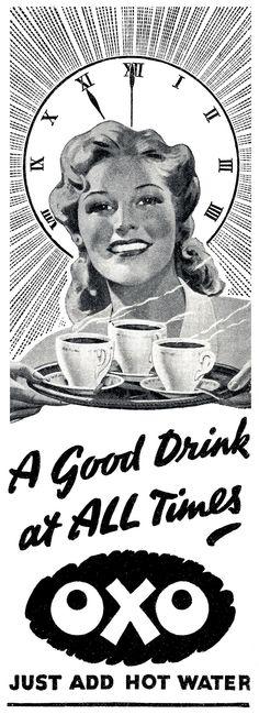 1942 Oxo ad