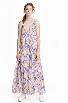 Chiffon maxi dress | H&M