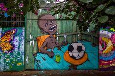 Street art na mundial, Sao Paulo