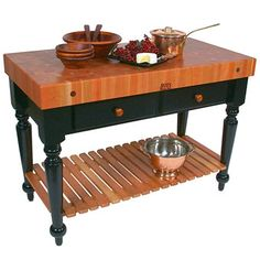Le Rustica Tables - Stonewall Kitchen