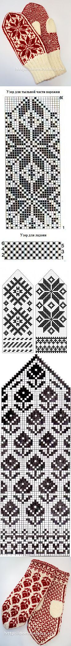 26 Ideas Crochet Gloves Chart Fair Isles For 2019 Knitted Mittens Pattern, Crochet Mittens, Crochet Gloves, The Mitten, Knitting Charts, Knitting Stitches, Crochet Mandala Pattern, Baby Afghan Crochet, Fair Isle Knitting