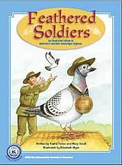 Feathered Soldiers: An illustrated tribute to Australia's wartime messenger pigeons (shelf book) Anzac Day For Kids, Pigeon, Childrens Books, Australia, Baseball Cards, Comics, Soldiers, Illustration, Shelf